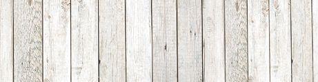 Clôture en bois clair