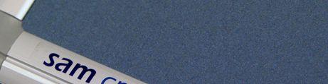Linoleum bleu clair