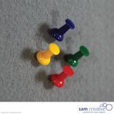 Set de punaises en couleurs  40pcs.